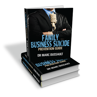 Family Business Suicide Prevention Guide Books(1)